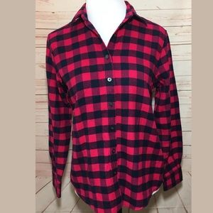Lands End Flannel | 4 Petite